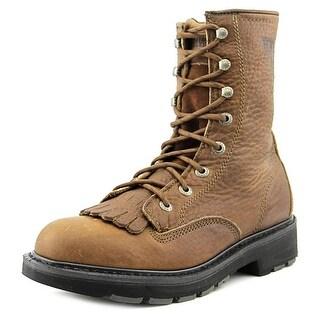 Wolverine Herrin Men Round Toe Leather Work Boot
