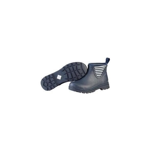 Muck Boots Navy/White Stripe Women's Cambridge AnkleBoot - Size 10