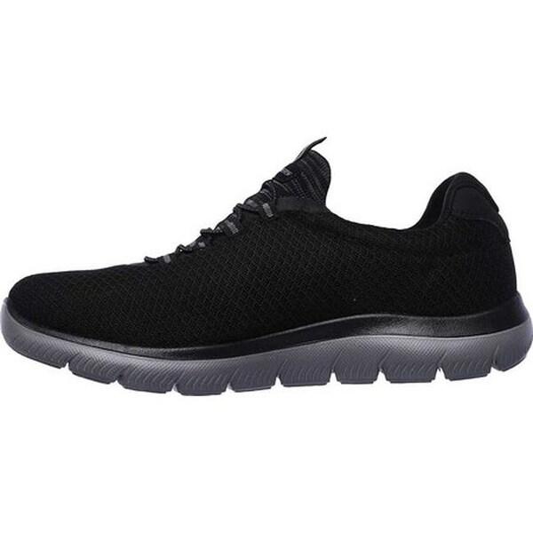 Shop Skechers Men's Summits Training Sneaker Navy On Sale