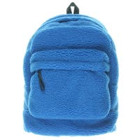 Marc by Marc Jacobs Mens Backpack Sherpa Faux Leather