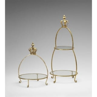 "Cyan Design 4712 30"" Crowned Two Tier Stand"