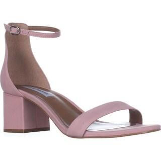 Steve Madden Irenee Heeled Ankle Strap Sandals, Light Pink