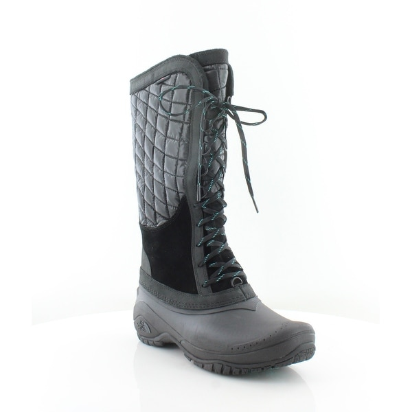 North Face Thermoball Lace-Up Women's Boots Black