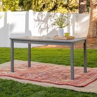 Surfside Acacia Outdoor Dining Table by Havenside Home