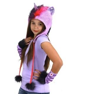 My Little Pony Twilight Sparkle Costume Glovettes - Purple