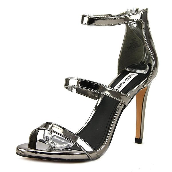 ab7dccb5b2a Shop Steve Madden Feelya Women Open Toe Synthetic Gray Sandals ...