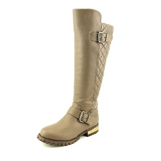 Dirty Laundry Twist & Shout Women Round Toe Synthetic Gray Knee High Boot