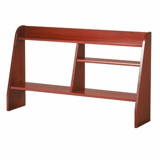 Computer Desk Shelf Cherry Stain Hardwood 44W Renovator's Supply