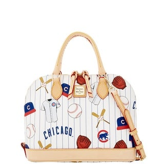 Dooney & Bourke MLB Cubs Zip Zip Satchel (Introduced by Dooney & Bourke at $248 in Jan 2015) - White