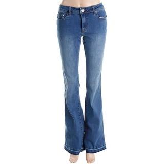 Philosophy Womens Flare Jeans Mid-Rise Medium Wash - 6