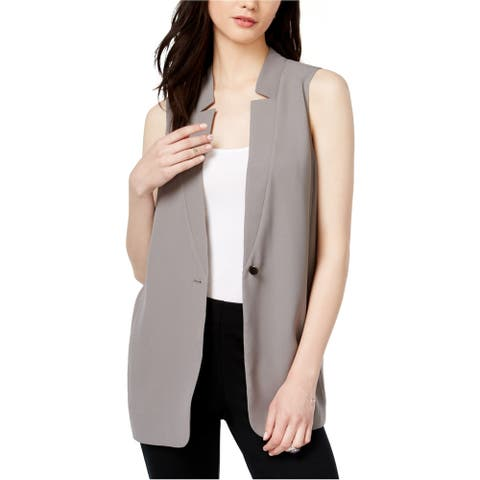 Bar Iii Womens Pleated Sweater Vest