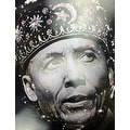 Elijah Muhammad Poster with Biography (18x24) - Multi-Color - Thumbnail 1