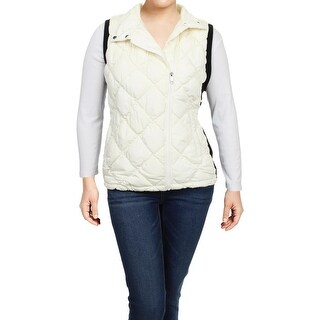 Marc New York by Andrew Marc Womens Plus Vest Quilted Puffer