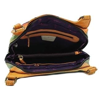 Anuschka 7001 Leather Hobo - Brown