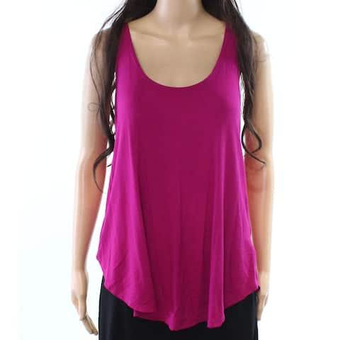 Hiatus Women's Purple Size Small S Scoop Neck Sleeveless Tank Cami Top