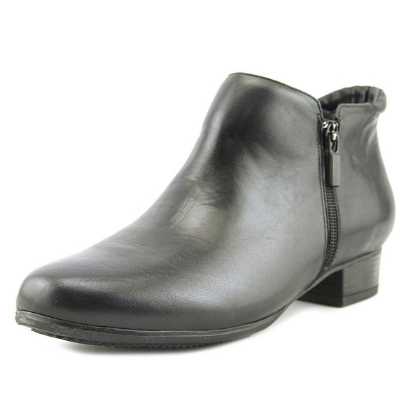 Trotters Major Black Boots