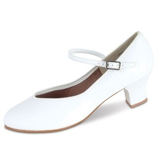 Danshuz Womens White Character Tap Queen Dance Shoes Size 3.5-10
