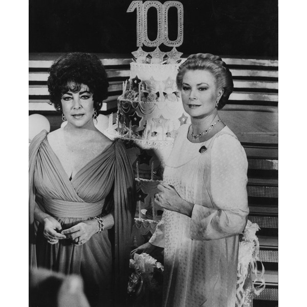 29038ea772 Grace Kelly and Elizabeth Taylor Photo Print