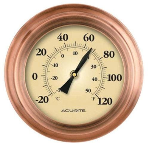 Acu-Rite 2321 Porthole Thermometr Copper