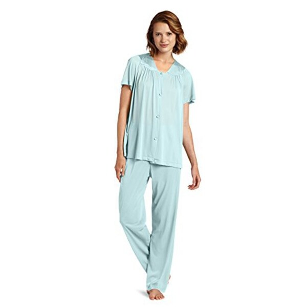78a6c541aa Shop Vanity Fair Women s Coloratura Sleepwear Short Sleeve Pajama ...