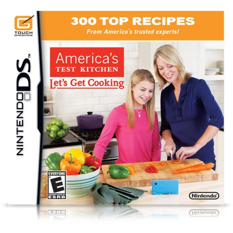 America's Test Kitchen: Let's Get Cooking (Nintendo DS)