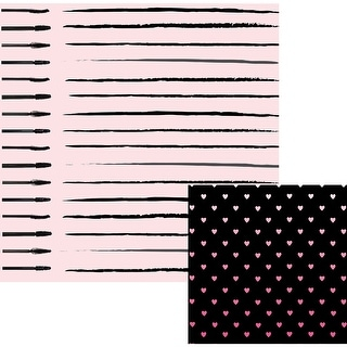 """Urban Chic Double-Sided Cardstock 12""""X12""""-Vogue"""