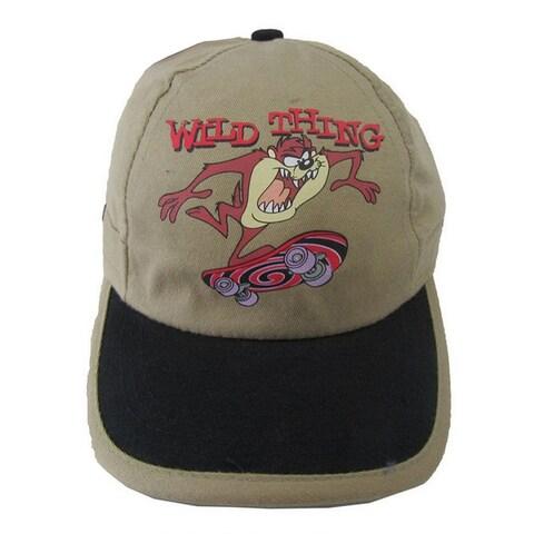 Looney Tunes Little Boys Khaki Wild Thing Taz Baseball Cap