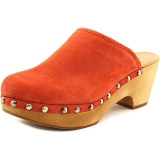 Corso Como Rafe Women Round Toe Suede Orange Mules