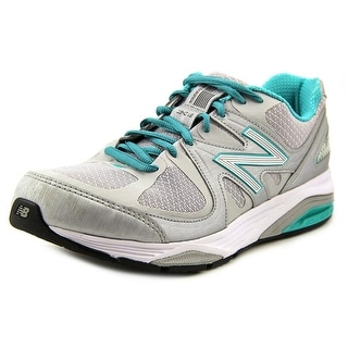 New Balance M1540 Women D Round Toe Canvas Gray Sneakers