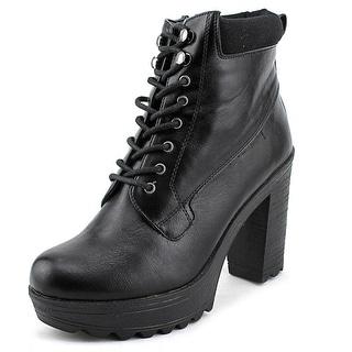 XOXO Jonas Round Toe Synthetic Ankle Boot