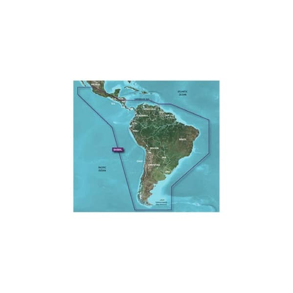 South America Garmin HXSA500L G2 Bluechart