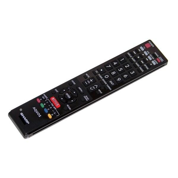 OEM Sharp Remote Control: LC60LE660, LC-60LE660, LC70UQ17, LC-70UQ17, LC70SQ10, LC-70SQ10