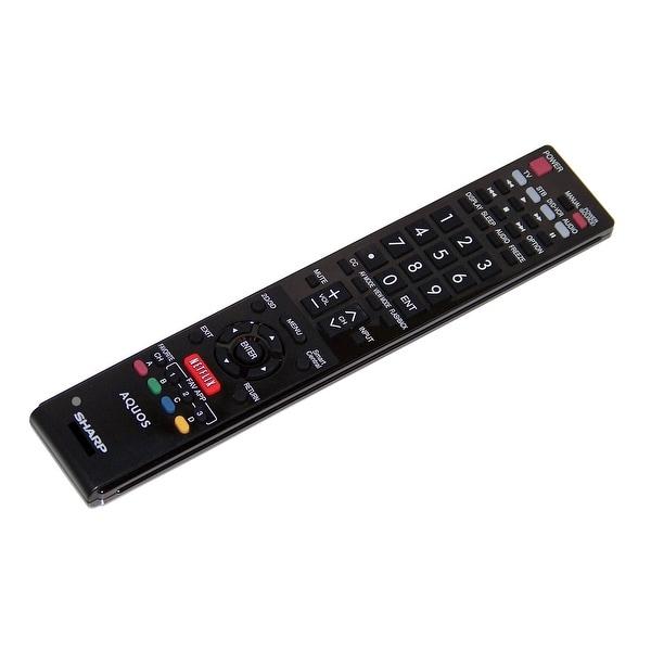 OEM Sharp Remote Control: LC60TQ15U, LC-60TQ15U, LC60UQ17, LC-60UQ17, LC60SQ17, LC-60SQ17