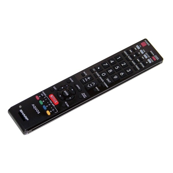 OEM Sharp Remote Control Originally Shipped With LC60EQ10U & LC-60EQ10U