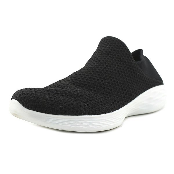 Skechers You Black/White Walking Shoes
