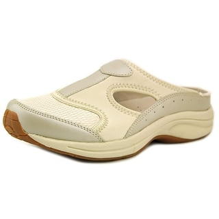 Easy Spirit Waterfall WW Round Toe Leather Mules