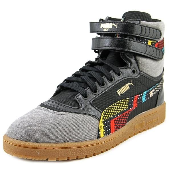 Puma Sky II Hi BHM Ram   Round Toe Canvas  Sneakers