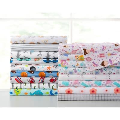 Asher Home Kid's Microfiber 2-pack Pillowcase Set