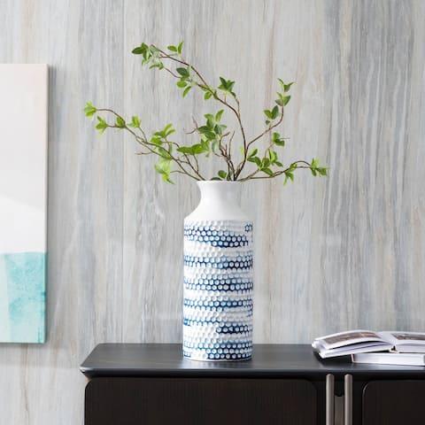 Nantucket Blue Vase