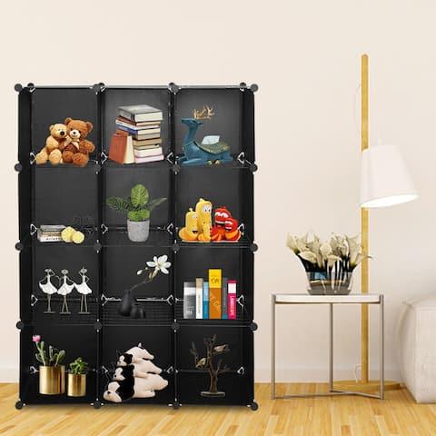 12-Cube Closet Organizer Shelves(2-Style)