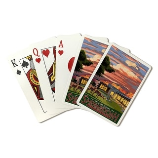 Shenandoah National Park, Virginia - Skyland Resort - Lantern Press Artwork (Poker Playing Cards Deck)