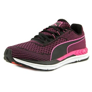 Puma Speed 600 S Ignite Women  Round Toe Synthetic Black Sneakers