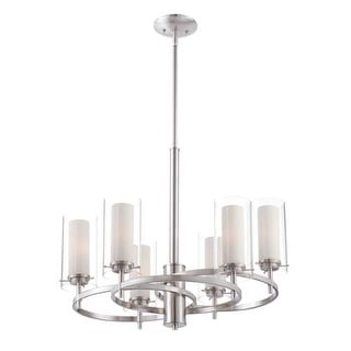 "Forecast Lighting FK0002836 6 Light 24.25"" Wide Chandeliers from the Hula Collection"