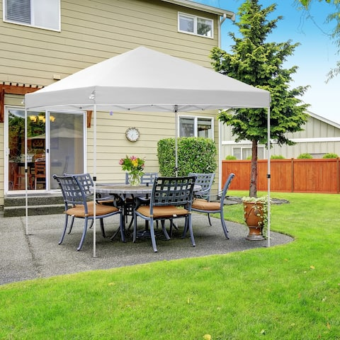 Ainfox 10x10ft Outdoor Canopy Tent Party Gazebo