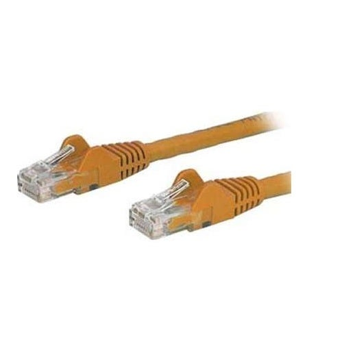 Startech - N6patch6inor 6In Cat6 Orange Snaglessnethernet Cable Utp