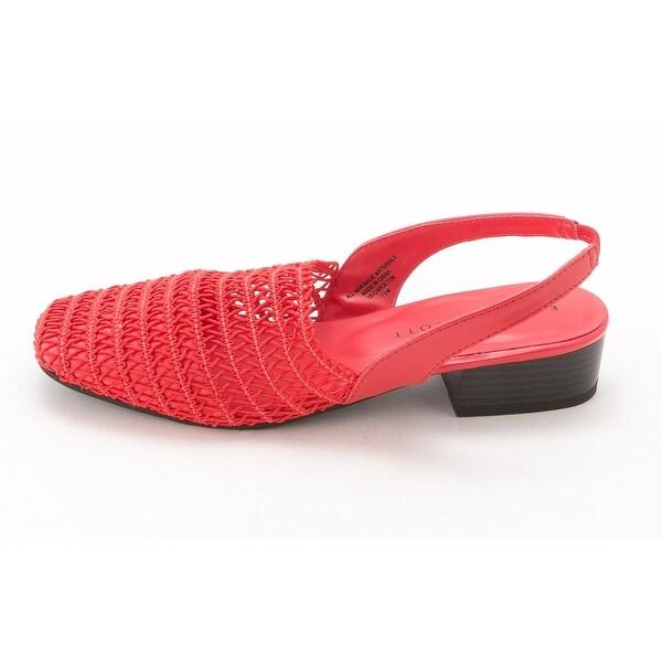 Karen Scott Women's Carolton Heeled Slingback Sandals