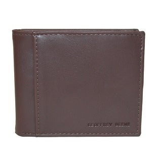 Geoffrey Beene Men's RFID Protected Flip-Up Passcase Bifold Wallet with ID - One size