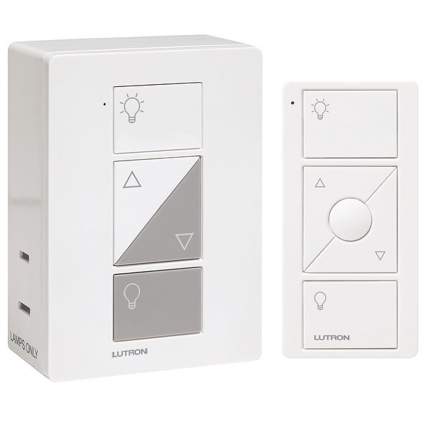 Lutron Caseta Wireless Plug-In Dimmer with Pico Remote Control Kit