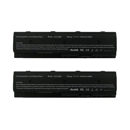Battery for HP HSTNNDB3P / 671567831 (2-Pack) Replacement Battery