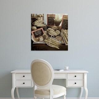Easy Art Prints Alan Blaustein's 'Marketplace #17' Premium Canvas Art